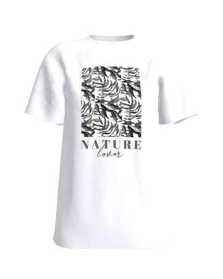 T-Shirt H UNISEX white Nature lover