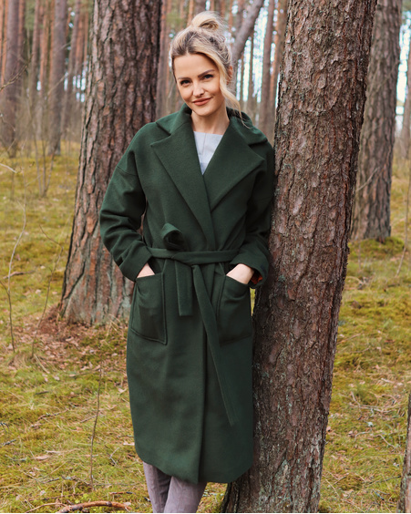 GREEN DREAMY COAT