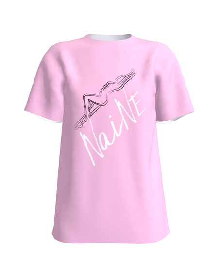 NAINE T-Shirt Light Pink