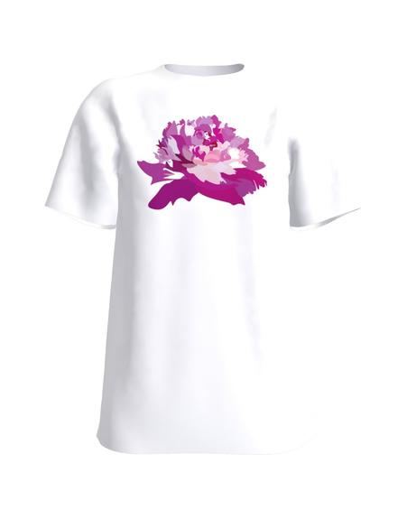 T-Shirt H UNISEX white _POJENG