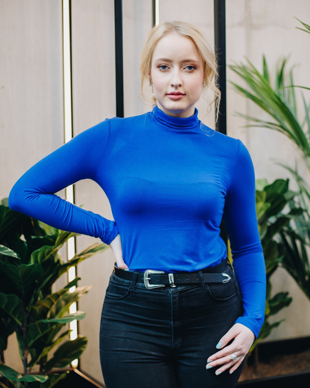 TD PULLOVER ELECTRIC BLUE