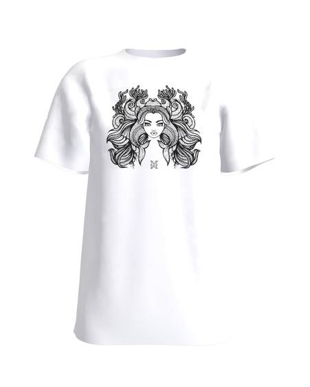 PISCES SLIM T-SHIRT WHITE