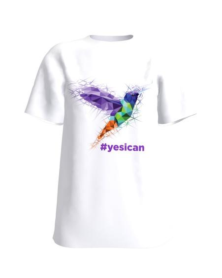 #yesican hummingbird sparkle