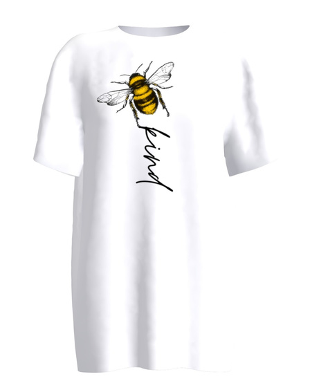 BEE KIND WHITE T-SHIRT
