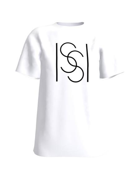 ISSI WHITE PRINT T-SHIRT