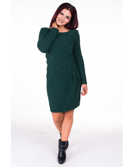 LITTLE GREEN KNIT DRESS