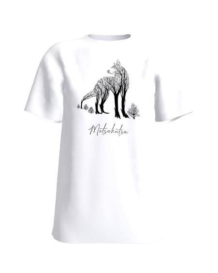 T-Shirt H UNISEX white METSAKUTSU