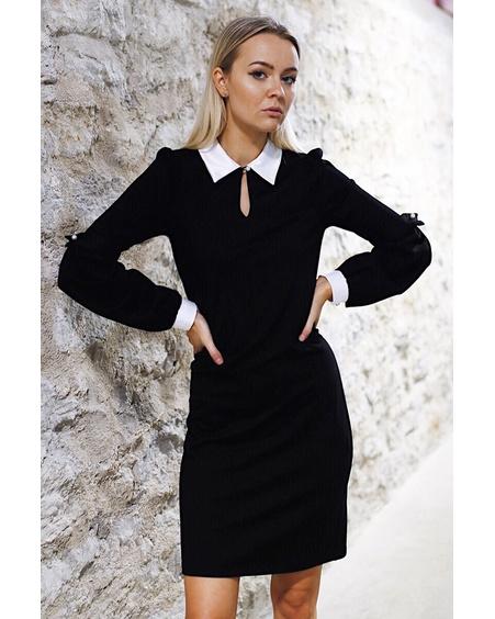 BLACK ALICE BODYCON DRESS