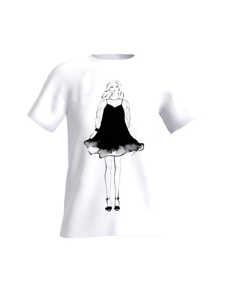 GIRL ART T-SHIRT