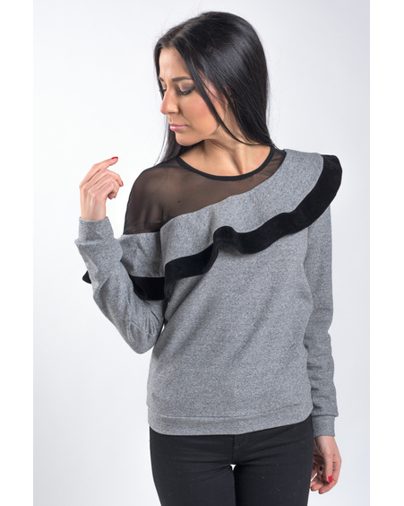 GREY FLAMENCO SWEATER