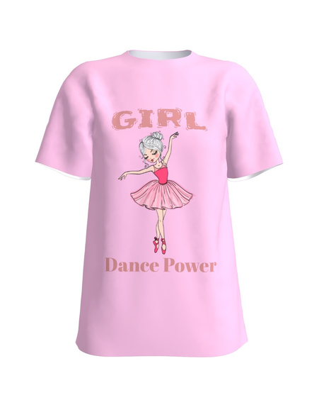 T-shirt pink GIRL