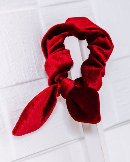 TD SCRUNCHIE: RED