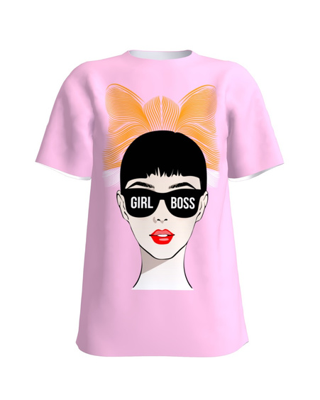 T-shirt pink LADY