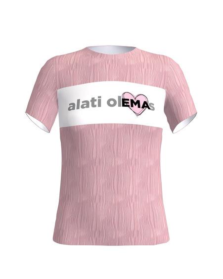 alati olEMAs pink t shirt
