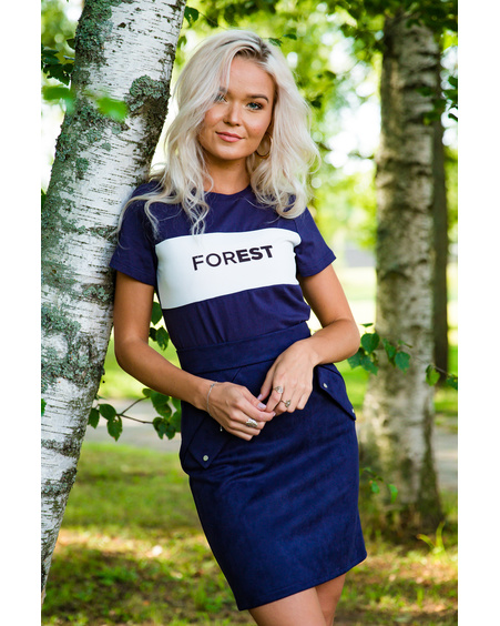 FOREST BLUE T-SHIRT