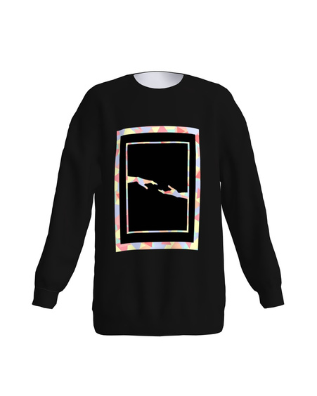 Armastus Kõigile loose sweatshirt