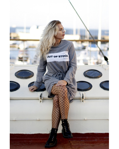 OUT OF STOCK GREY JUMPER DRESS