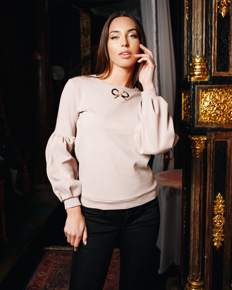 TD SIGNATURE ALICE SWEATSHIRT BLUSH