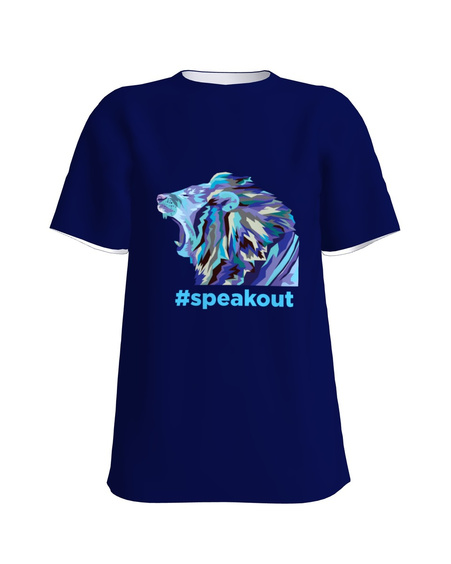 #speakout blue lion