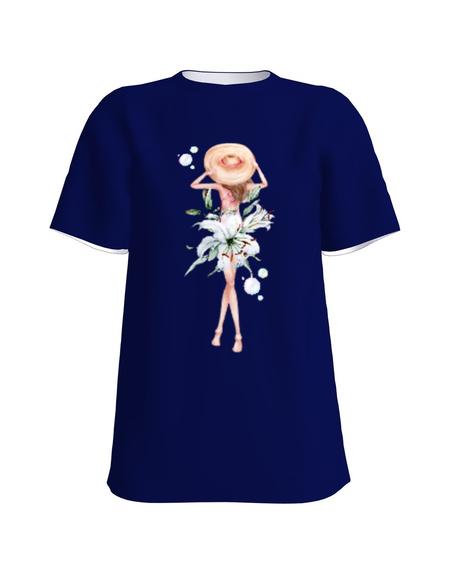 T-Shirt H UNISEX Navy blue