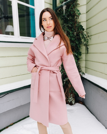 DREAMY COAT LIGHT PINK