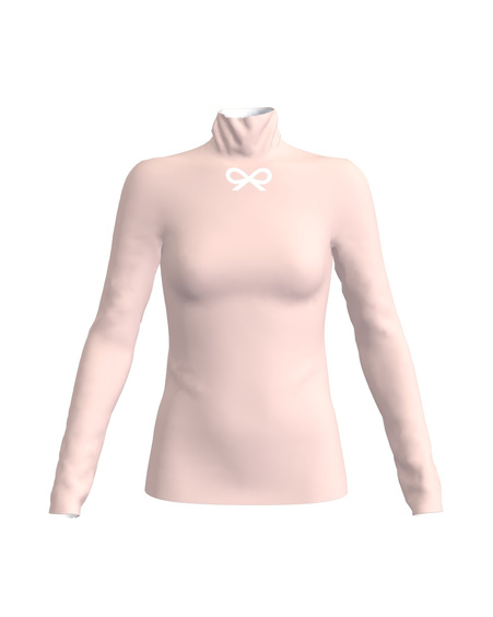 TD SIGNATURE BOW PULLOVER LIGHT PINK