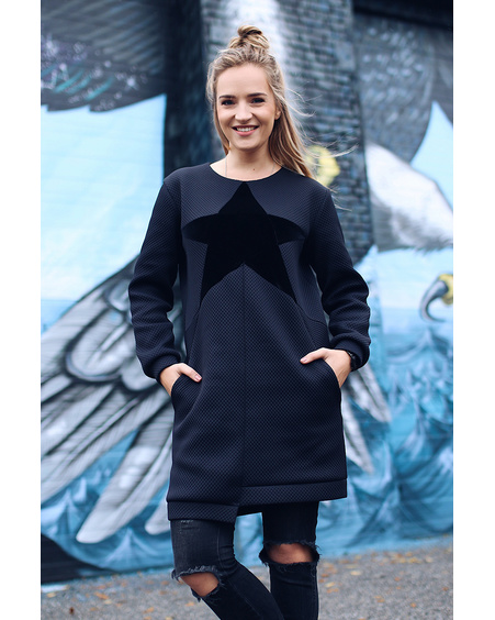STAR COOL CUT DRESS