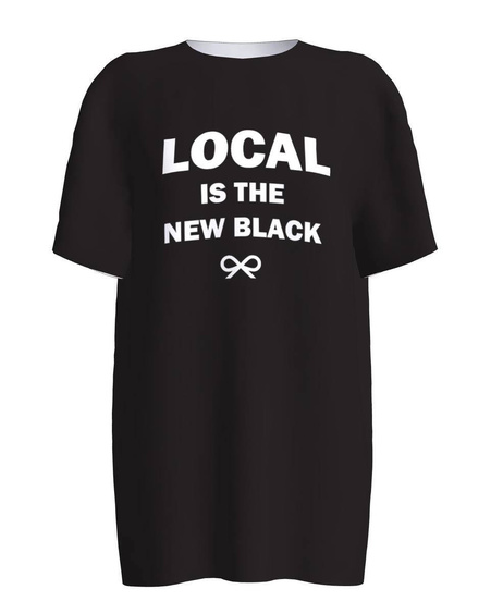 LOCAL IS THE NEW BLACK PRINT T-SHIRT
