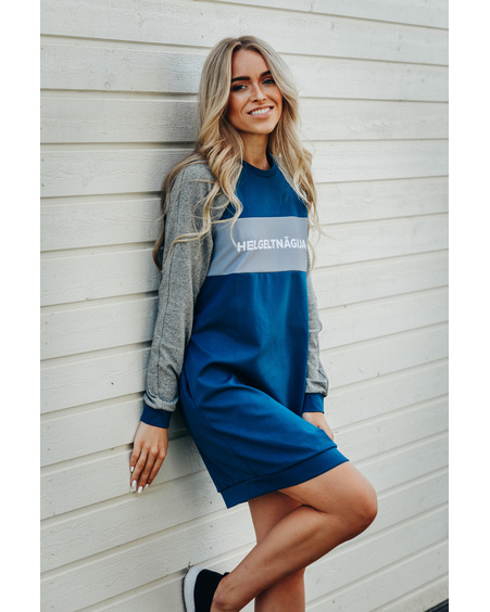 BLUE GREY HELGELTNÄGIJA DRESS