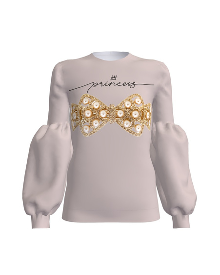 Sweater  Alice Sleeve Puff Princess
