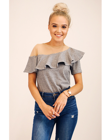 GREY FLAMENCO T-SHIRT
