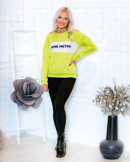 GREEN MINE METSA RAGLAN SWEATER