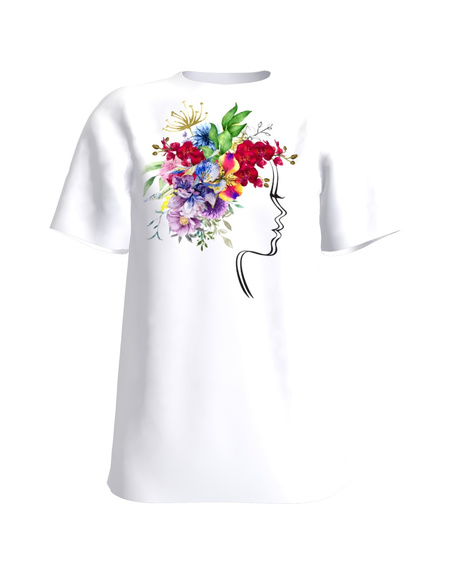 WONDERFUL MIND WHITE T-SHIRT