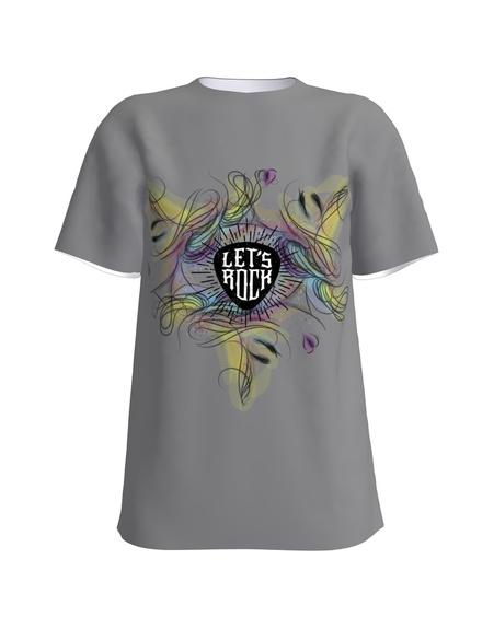 T-shirt Let´s Rock