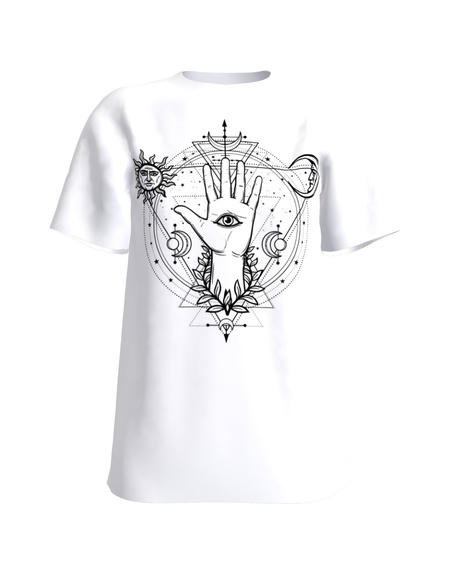 Third Eye Jo T-Shirt White