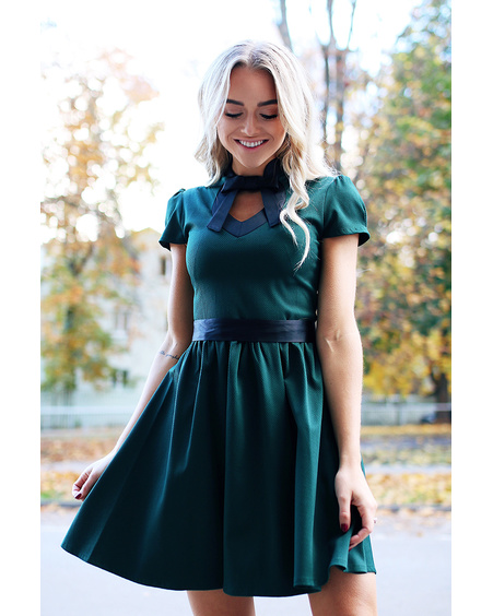DOLLABLE DRESS GREEN