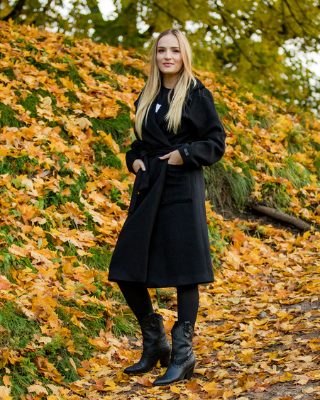 DREAMY COAT BLACK