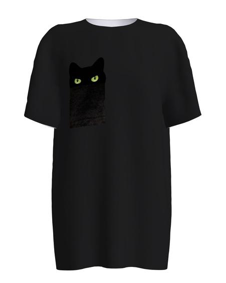 BLACK KITTY EYES