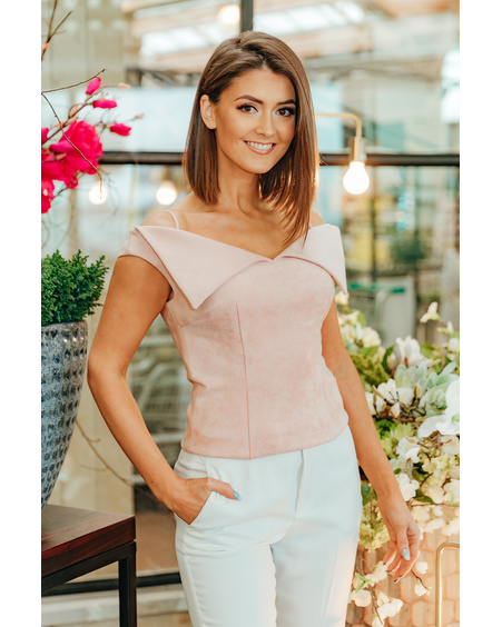 PEACHY COURTIER TOP