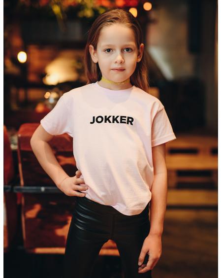 JOKKER KIDS PRINT T-SHIRT PINK