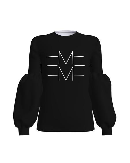 EMME ALICE SWEATSHIRT BLACK