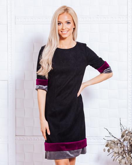 AUTUMN LAYERCAKE DRESS BLACK