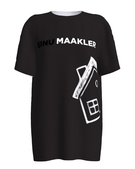 Sinu Maakler Black T-Shirt