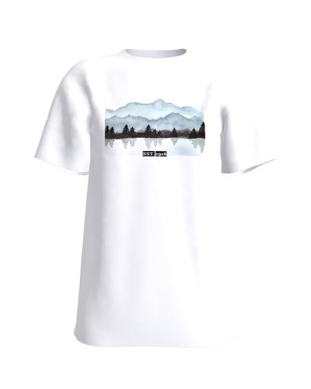 T-Shirt H UNISEX white EST. 1918