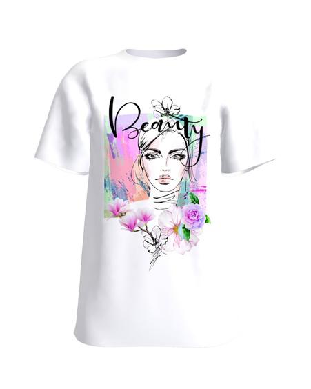 T-Shirt SPRING BEAUTY! UNISEX white
