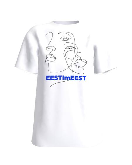 T-Shirt H UNISEX white EESTImEEST