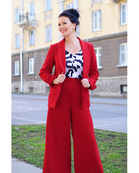 RED ELEGANT JACKET