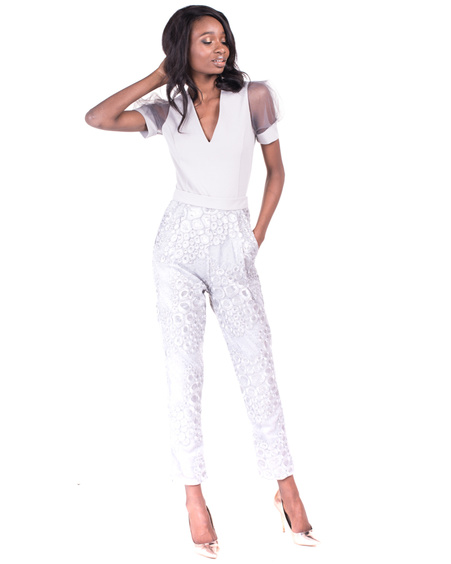 SILVER POCKET TROUSERS