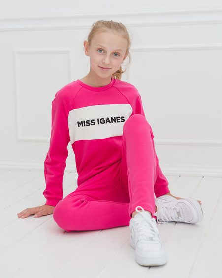 KIDS SWEATPANTS FUCHSIA