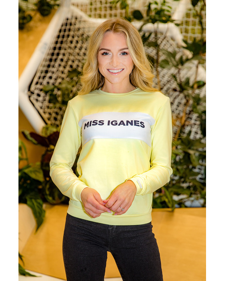 YELLOW MISS IGANES SWEATER
